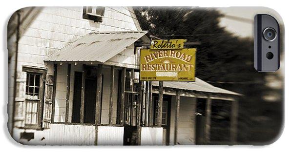 Baton Rouge iPhone Cases - Robertos iPhone Case by Scott Pellegrin