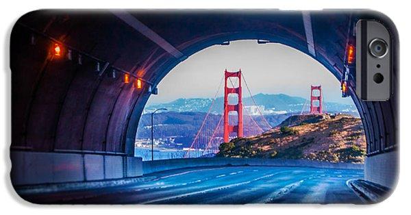 Sausalito Ca iPhone Cases - Robin Williams Tunnel  iPhone Case by Christine  Dorfer