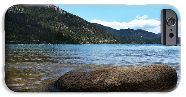 Fine Art Photo iPhone Cases - Rock And Beyond iPhone Case by Dan Holm