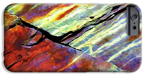 Recently Sold -  - Nature Abstract iPhone Cases - Rock Art 16 Natural Color iPhone Case by Bill Caldwell -        ABeautifulSky Photography