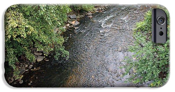 D.c. iPhone Cases - Rock Creek From P Street Bridge iPhone Case by Cora Wandel