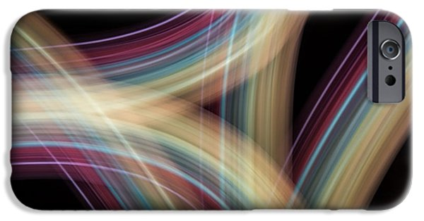 Painter Photographs iPhone Cases - Rock Lightpaintings - Sonora Sunrise iPhone Case by Dave Markman