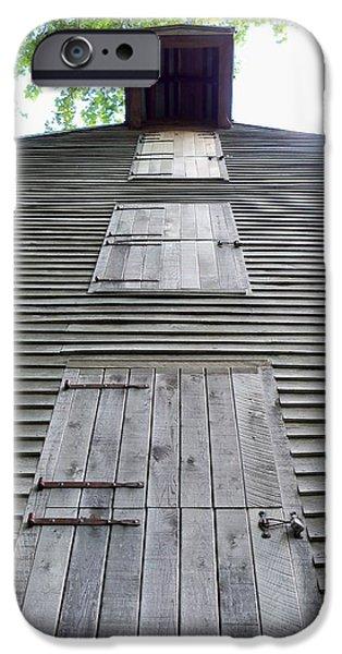 Overhang iPhone Cases - Rock Mill Doors iPhone Case by Katie Beougher