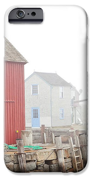 Rockport Fog iPhone Case by Susan Cole Kelly