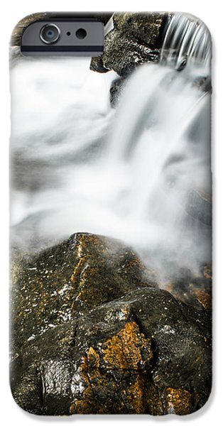 Nature Scene iPhone Cases - Rocky Collision iPhone Case by Shelby  Young
