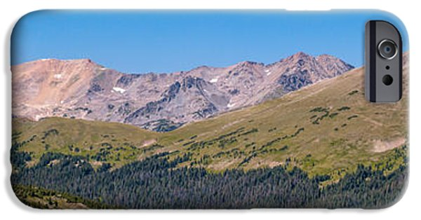 Pines iPhone Cases - Rocky Mountain National Park iPhone Case by Bill Gallagher