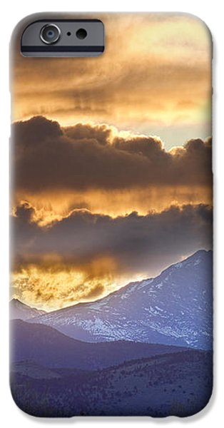 Rocky Mountain Springtime Sunset 3 iPhone Case by James BO  Insogna