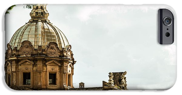 Old Reliefs iPhone Cases - Roma iPhone Case by Wajih Ben taleb
