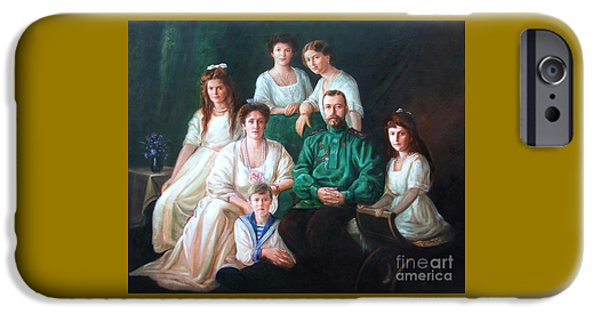 Best Sellers -  - Duchess iPhone Cases - Romanov family portrait iPhone Case by George Alexander