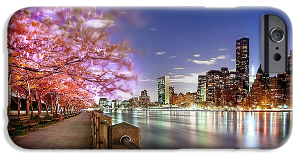 Cherry Blossoms Photographs iPhone Cases - Romantic Blooms iPhone Case by Az Jackson