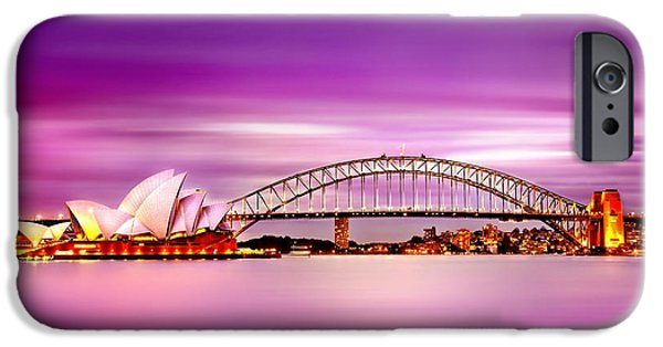 Business iPhone Cases - Romantic Harbour  iPhone Case by Az Jackson