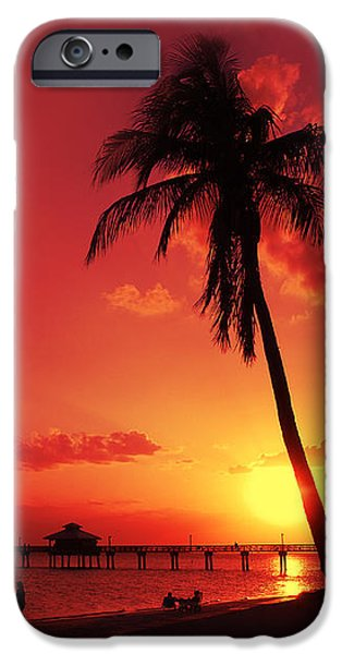 Recently Sold -  - Sea iPhone Cases - Romantic Sunset iPhone Case by Melanie Viola