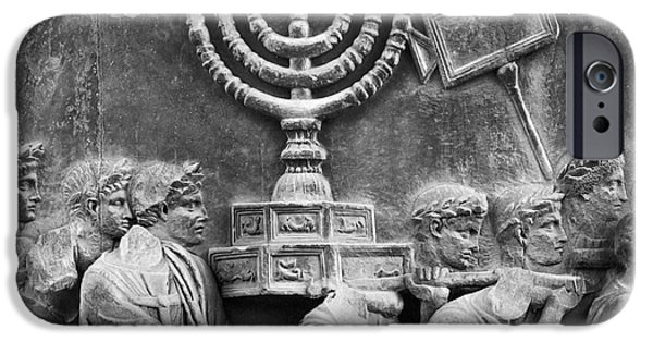 Flavius iPhone Cases - Rome: Arch Of Titus iPhone Case by Granger