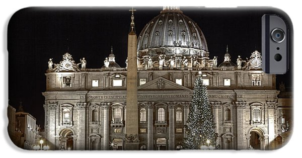 St Photographs iPhone Cases - Rome Vatican iPhone Case by Joana Kruse