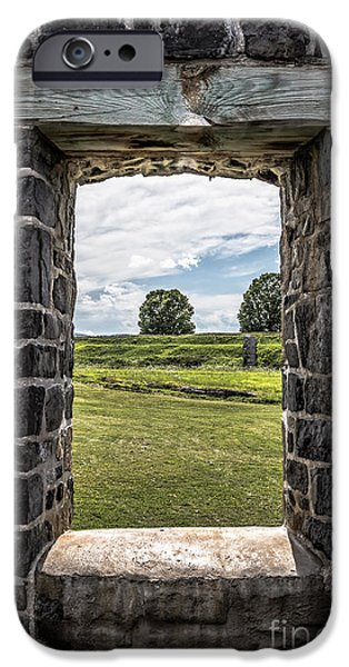 Ruins iPhone Cases - Room With A View iPhone Case by Edward Fielding