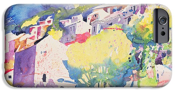 Village iPhone Cases - Roque Brun from the Old Mills iPhone Case by Simon Fletcher