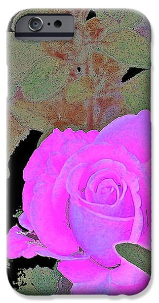 Rose 97 iPhone Case by Pamela Cooper