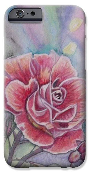 Rose iPhone Case by Laura Laughren