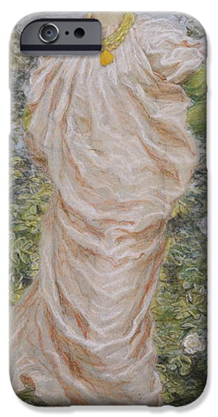 Outdoors Pastels iPhone Cases - Roses iPhone Case by Albert Joseph Moore