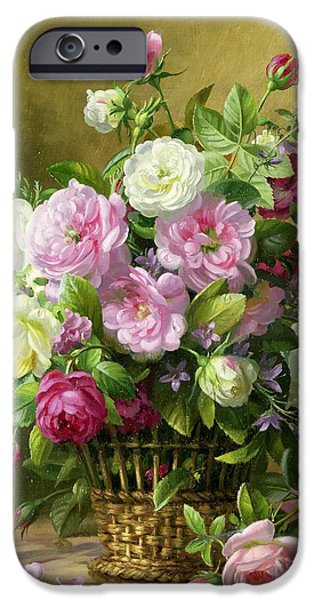 Pink Roses iPhone Cases - Roses  iPhone Case by Albert Williams