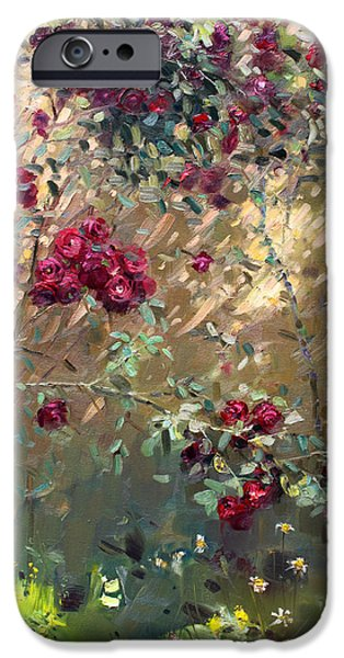 Rose iPhone Cases - Roses are Red iPhone Case by Ylli Haruni