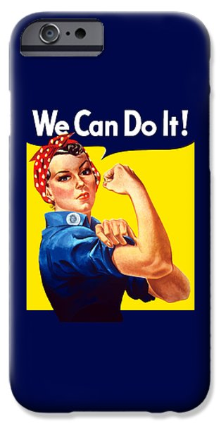 Rosie The Rivetor iPhone Case by War Is Hell Store