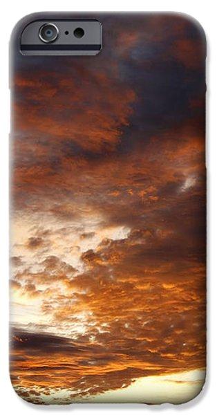 rosy sky iPhone Case by Michal Boubin