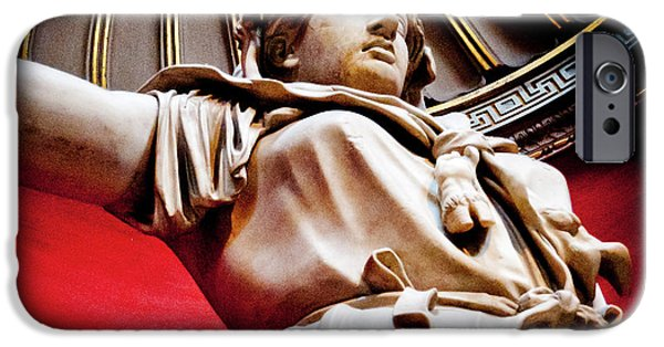 Warrior Goddess Photographs iPhone Cases - ROTUNDA COLOSSALS 2 of 3 vatican museum ancient statues rome italy iPhone Case by Andy Smy