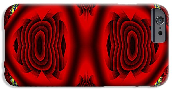 Abstract Digital Photographs iPhone Cases - Rr2 iPhone Case by Theodore Jones