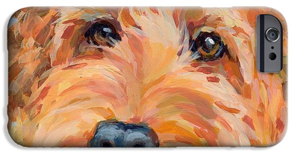 Mixed Breed iPhone Cases - Ruby iPhone Case by Kimberly Santini