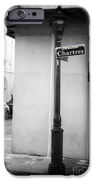 Rue de Chartres iPhone Case by John Rizzuto