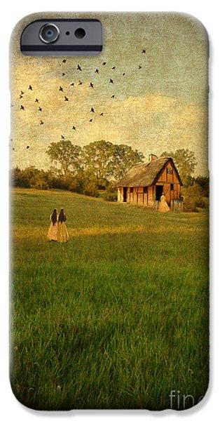 Rural Cottage iPhone Case by Jill Battaglia
