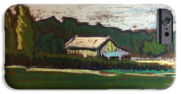 Best Sellers -  - Shed Pastels iPhone Cases - Rural Farm iPhone Case by Tim Bruneau