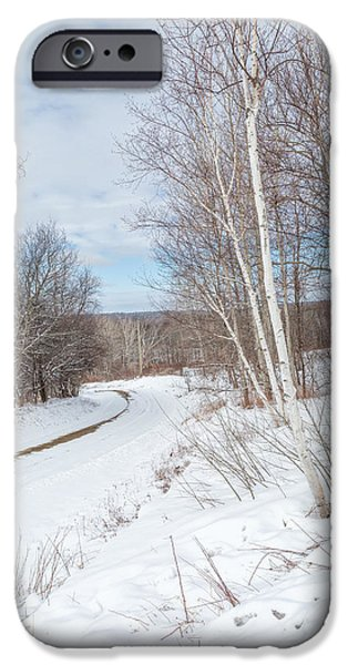 Rural Roads iPhone Case by Bill Wakeley