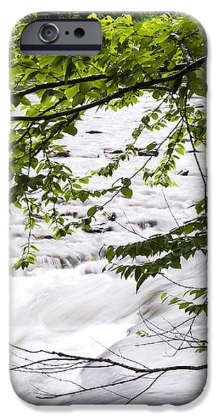 Rushing River iPhone Case by Thomas R Fletcher