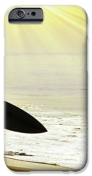 rushing surfer iPhone Case by Carlos Caetano