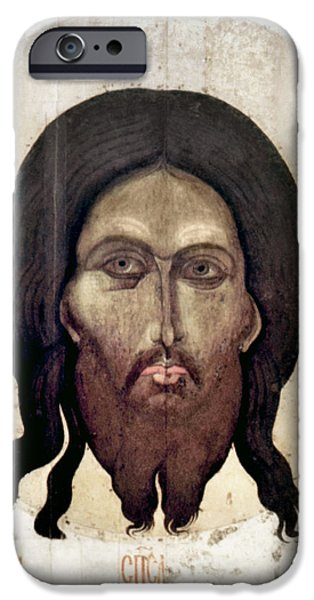 RUSSIAN ICON: THE SAVIOR iPhone Case by Granger