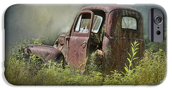 Rust iPhone Cases - Rust Bucket iPhone Case by TnBackroads Photography