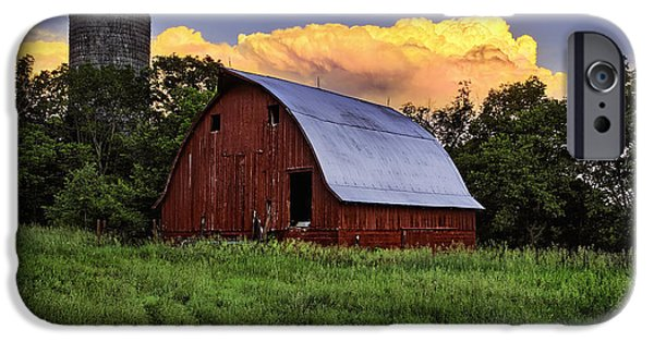 Recently Sold -  - Old Barns iPhone Cases - Rustic Glory iPhone Case by Thomas Zimmerman