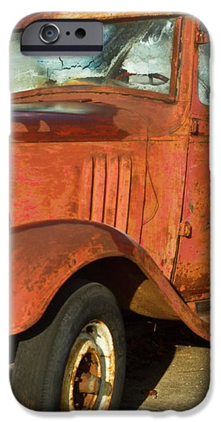 Rusty Chevrolet Pickup Truck 1934 iPhone Case by Douglas Barnett
