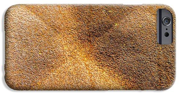 Rust iPhone Cases - Rusty Door iPhone Case by Maximiliano Ripani