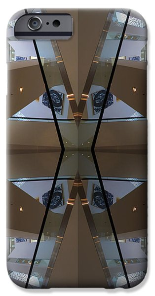 Bay Bridge iPhone Cases - S F N M architecture 3 iPhone Case by Tina M Wenger