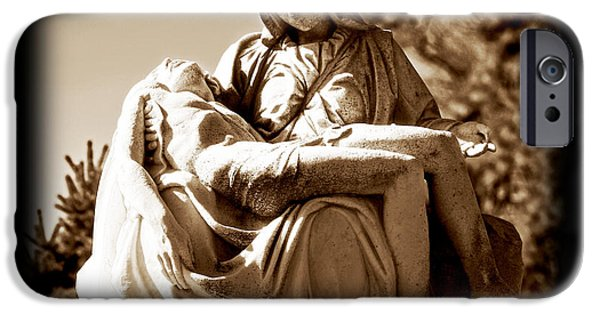 Headstones iPhone Cases - Sacrifice iPhone Case by John Rizzuto
