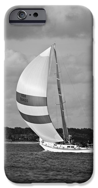 Sailing iPhone Cases - Sail Power iPhone Case by Dustin K Ryan