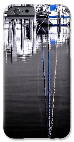 Sailboats iPhone Cases - Sailboat 07 iPhone Case by Hayden Hammond