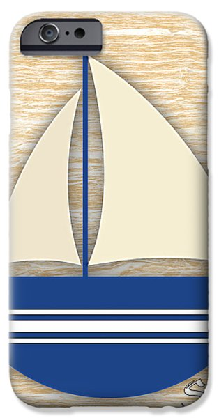 Seascape iPhone Cases - Sailing Collection iPhone Case by Marvin Blaine