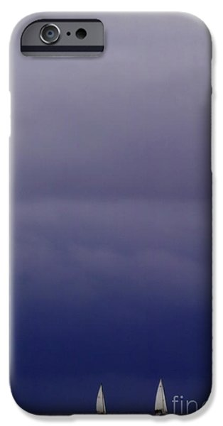 Sailing on Baltic Sea iPhone Case by Heiko Koehrer-Wagner