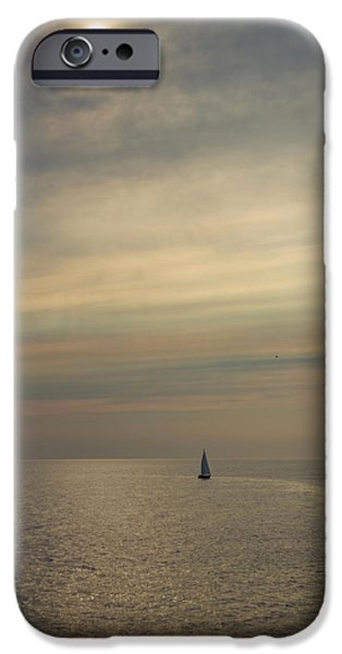 Sailboat iPhone Cases - Sailing the Dreamscape iPhone Case by J Allen