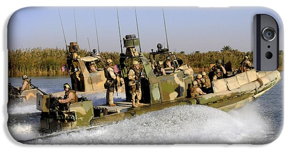 Iraq iPhone Cases - Sailors Racing Along The Euphrates iPhone Case by Stocktrek Images