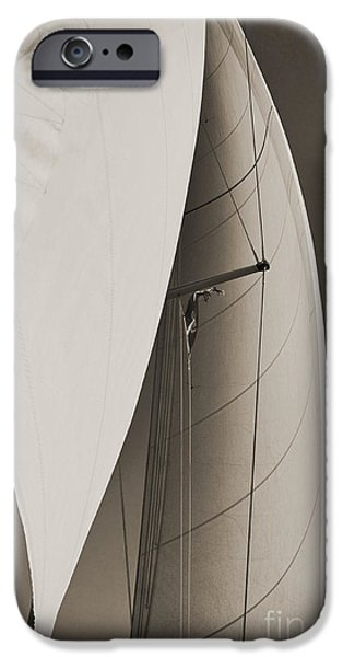 Sailing Digital iPhone Cases - Sails iPhone Case by Dustin K Ryan